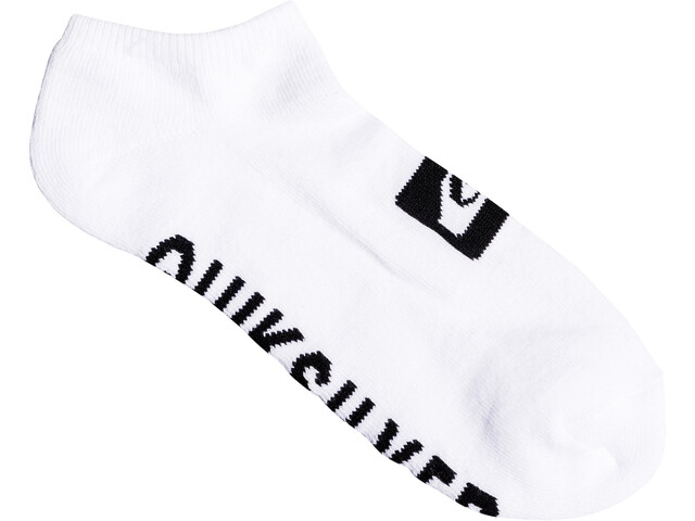 Quiksilver Ankle Calze confezione da 3, white